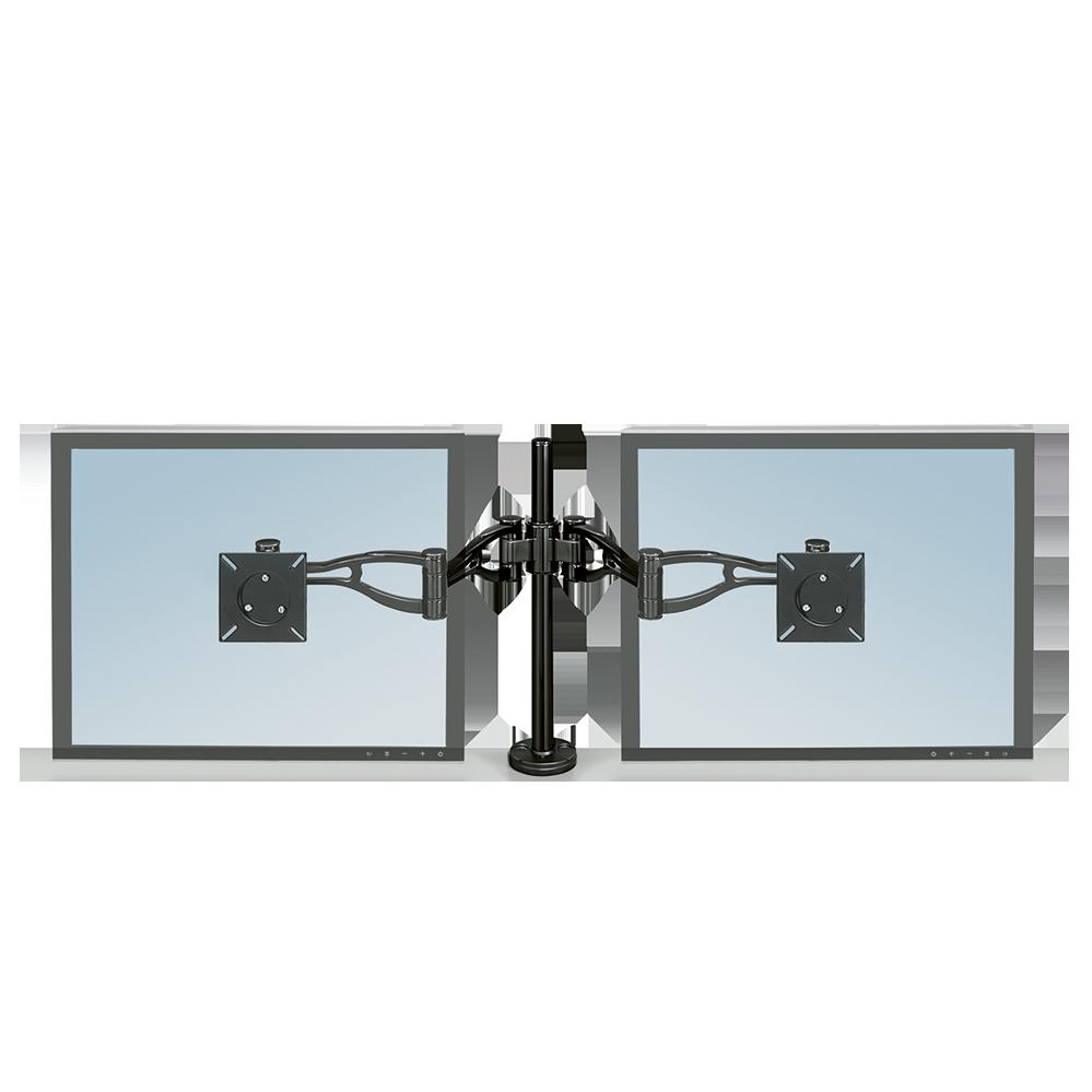 Crystals™ Monitortartó kar, két monitorhoz