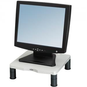Standard monitorállvány, platinaszürke