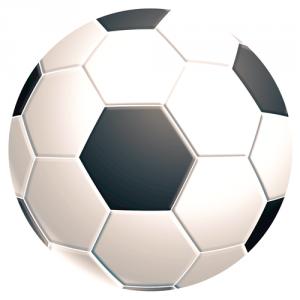 Brite™ kör alakú egéralátét, focilabda