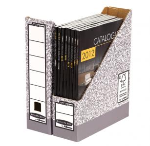 Bankers Box® System karton iratpapucs, szürke
