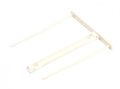 Bankers Box® Pro műanyag lefűző klipp, fehér SK