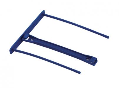 Bankers Box® Pro clip, 100 mm, modra