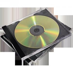 Standard CD-tok, 1 db-os, fekete SL