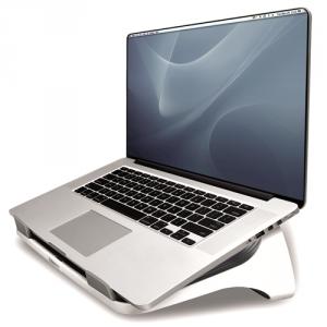 I-Spire Series™ Laptop állvány, fehér-grafitszürke