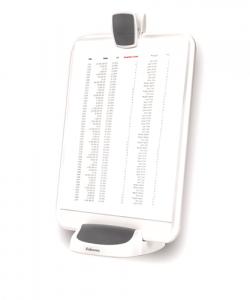 I-Spire Series™ Irat- és tablettartó, fehér-grafitszürke SK