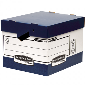 Bankers Box® archiváló konténer ergonomikus fogantyúkkal