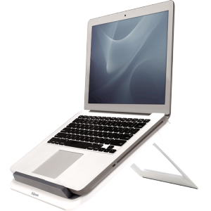 I-Spire Series™ Quick Lift laptopállvány, grafitszürke-fehér