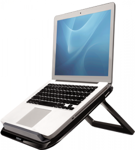 I-Spire Series™ Quick Lift laptopállvány, fekete