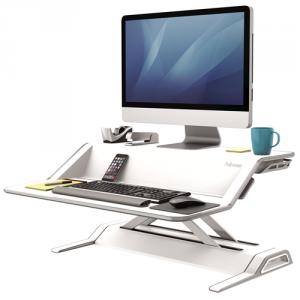 Lotus™ ülő/álló munkaállomás, fehér