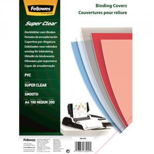 Super prosojne PVC platnice – 200 mikronov A4