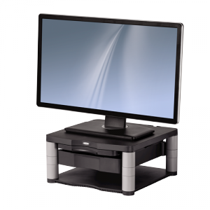 Premium Plus monitorállvány, grafitszürke