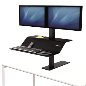 Lotus™ VE ülő/álló munkaállomás, két monitorhoz