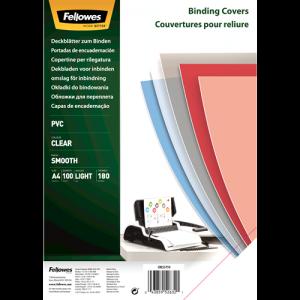 Folija PVC za vezavo – A4, 180 mic, prosojna
