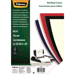 Platnice Delta A4, FSC® certifikat, rumena, 100 kosov/zav