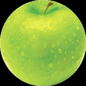Brite™ kör alakú egéralátét, alma