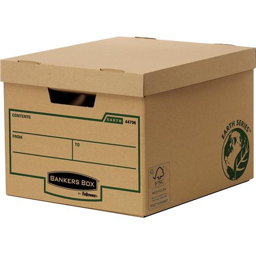Bankers Box® Earth Series karton archiváló konténer (standard)