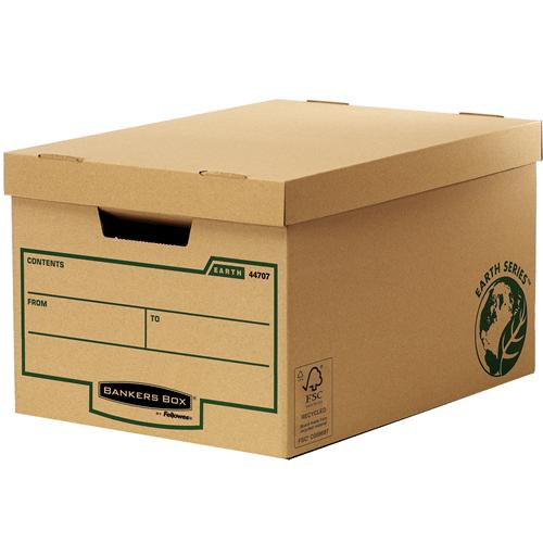 Bankers Box® Earth Series karton archiváló konténer (nagy)