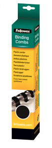 Plastične špirale 8 mm – črna (za 21-40 listov), 25 kosov