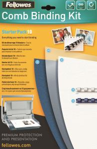 Kezdőcsomag műanyag spirálozáshoz, 10 dokumentum bekötéséhez SL