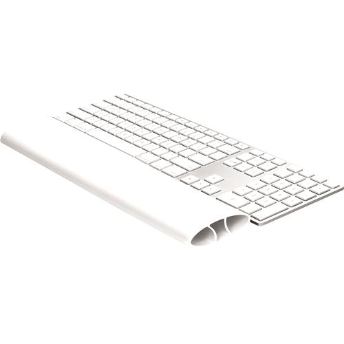 I-Spire Series™ Szilikonos csuklótámasz billentyűzethez, fehér