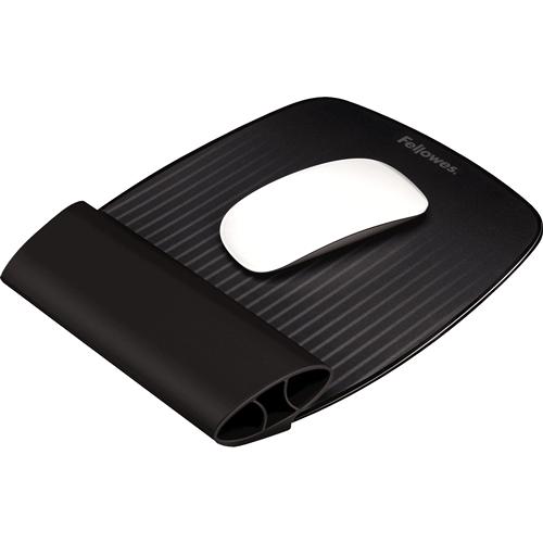 I-Spire Series™ Egéralátét szilikonos csuklótámasszal, fekete SL