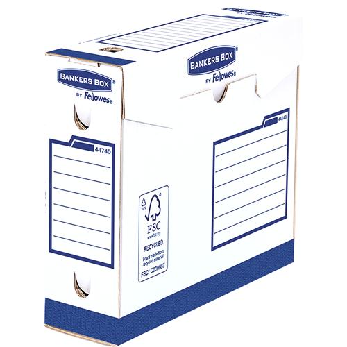 Bankers Box® Osnovna odporna škatla 80mm A4+, pakirano po 20