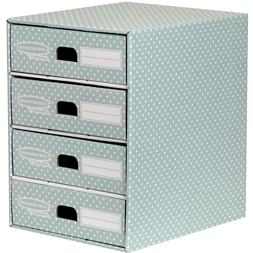 Bankers Box® Style iratrendező, zöld/fehér