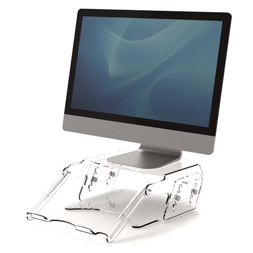 Clarity™ nastavljiv podstavek za monitor & zaslon z nosilcem za dokumente