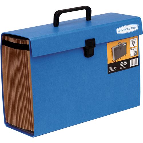 Bankers Box® Handifile mapa harmonika – modra