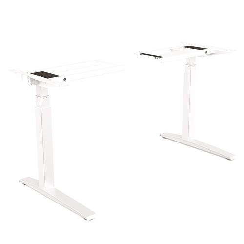 Levado™ Állítható magasságú asztal, alap, fehér