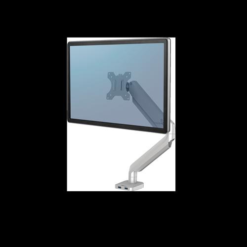 Platinum Series™ Single monitortartó kar, egy monitorhoz, ezüst
